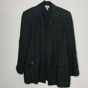 A Line Anne Klein Suit Jacket Business Separate